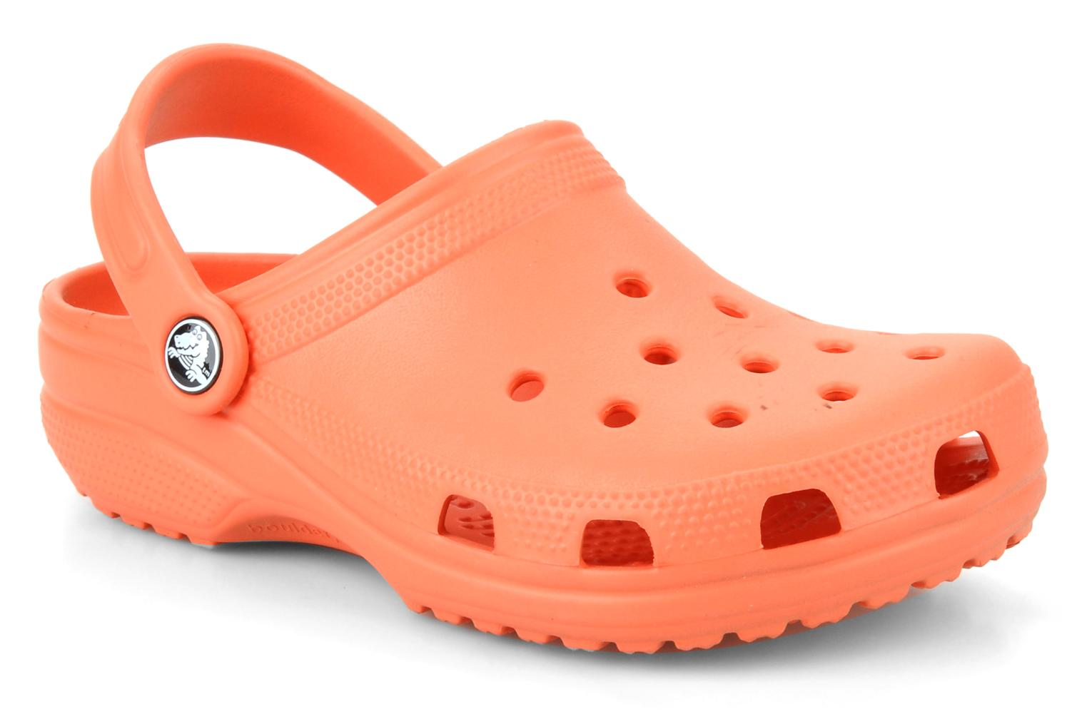 Description. Crocs Kids – Classic Clog (Toddler/Little Kid) (Slate Grey) Kids Shoes. Crocs comfort Level 1. ; Their feet are cool and comfortable in the Classic Clog from Crocs Kids.