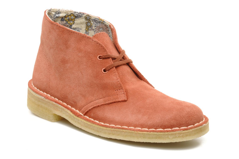 clarks originals desert boot rose bottines et boots chez sarenza 83029. Black Bedroom Furniture Sets. Home Design Ideas
