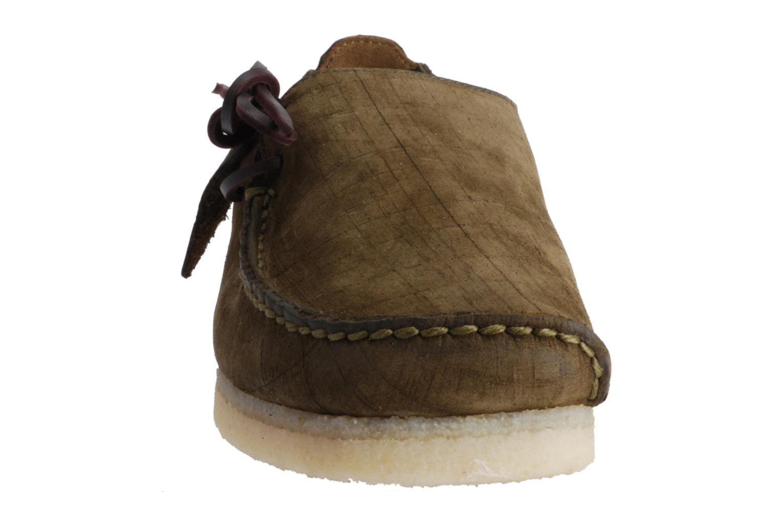 Clarks Originals Lugger Lace Up Shoes In Brown At Sarenza