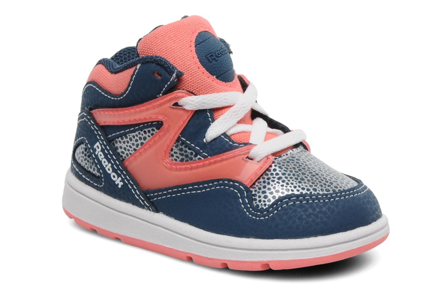 reebok versa pump omni lite trainers in blue at 167179. Black Bedroom Furniture Sets. Home Design Ideas