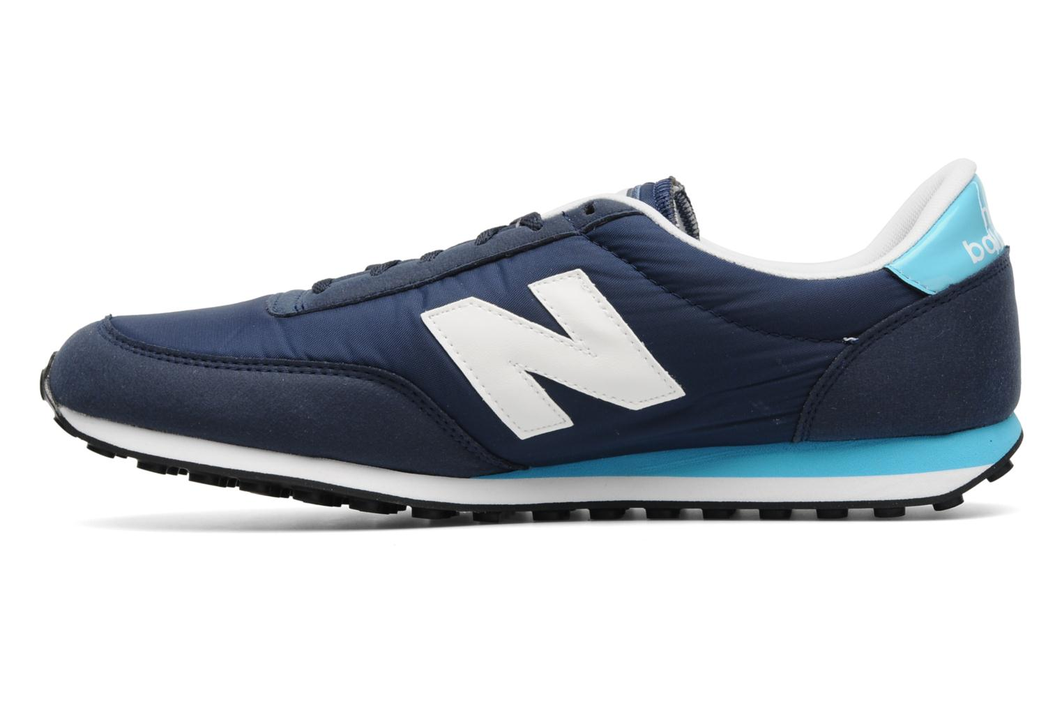 new balance u410 trainers in blue at 135482. Black Bedroom Furniture Sets. Home Design Ideas