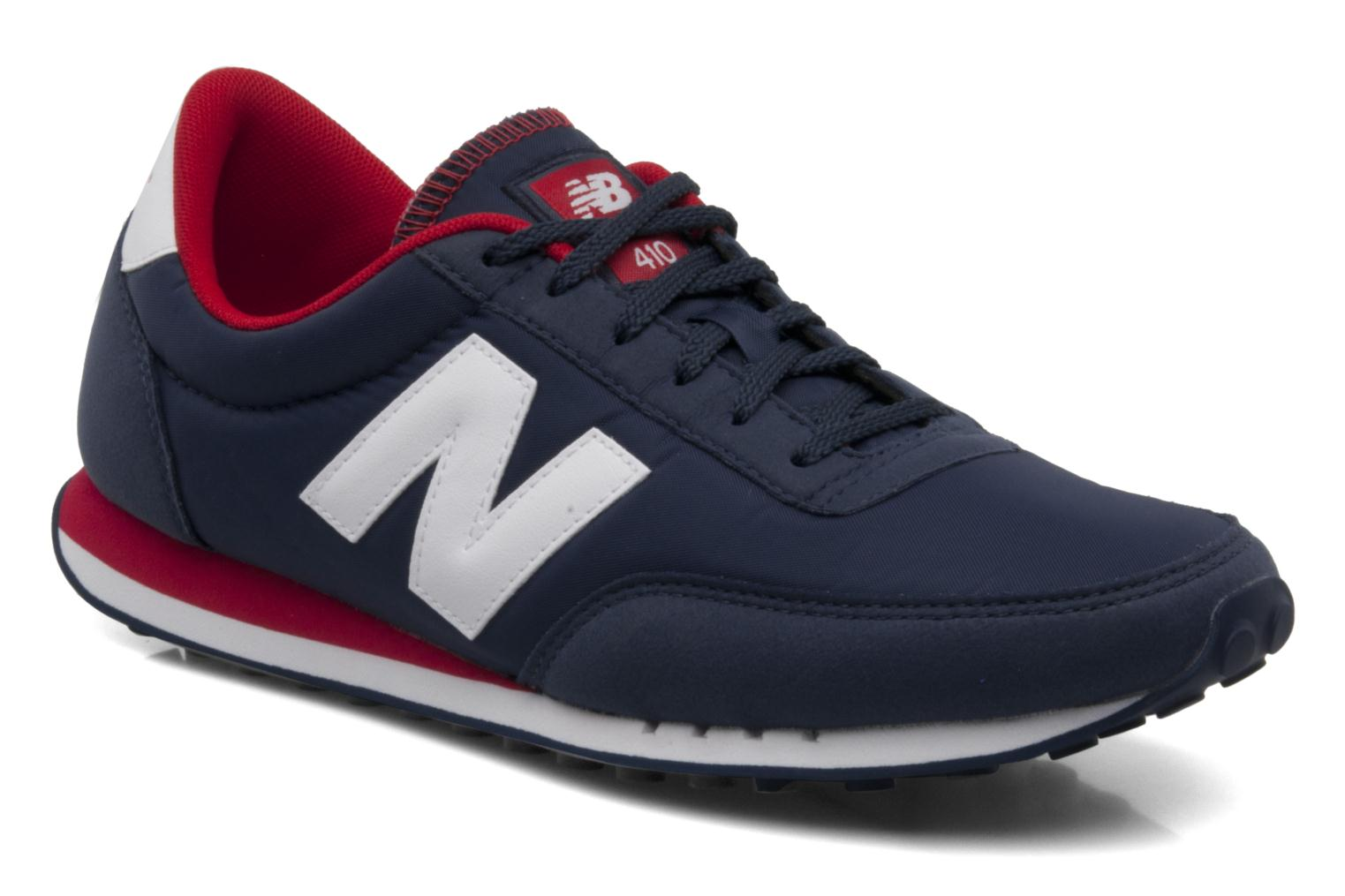 new balance u410 trainers in blue at 86119. Black Bedroom Furniture Sets. Home Design Ideas
