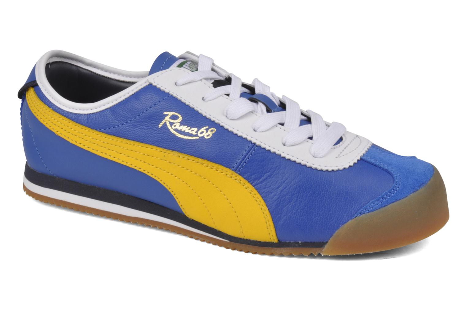 Puma Roma 68 Vintage Trainers in Blue at Sarenza.co.uk (34812)