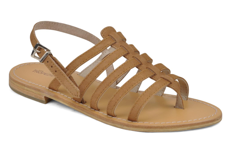 les trop ziennes par m belarbi hook sandals in brown at 36104. Black Bedroom Furniture Sets. Home Design Ideas