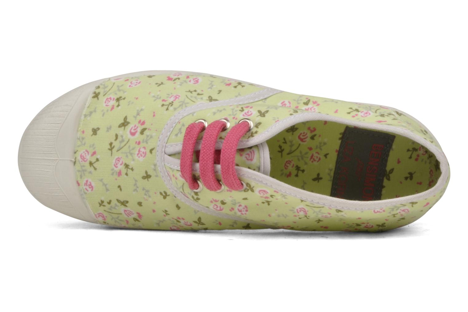 Bensimon By Liza Korn Tennis Lacets Print Trainers in ...