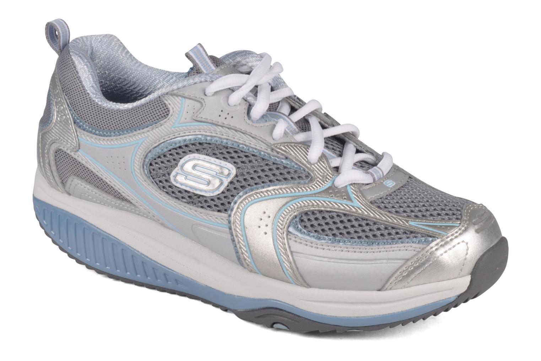 shape ups shape ups acc l rator sport shoes in silver at. Black Bedroom Furniture Sets. Home Design Ideas