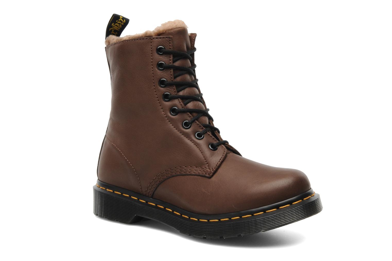 dr martens serena w marron bottines et boots chez sarenza 183229. Black Bedroom Furniture Sets. Home Design Ideas
