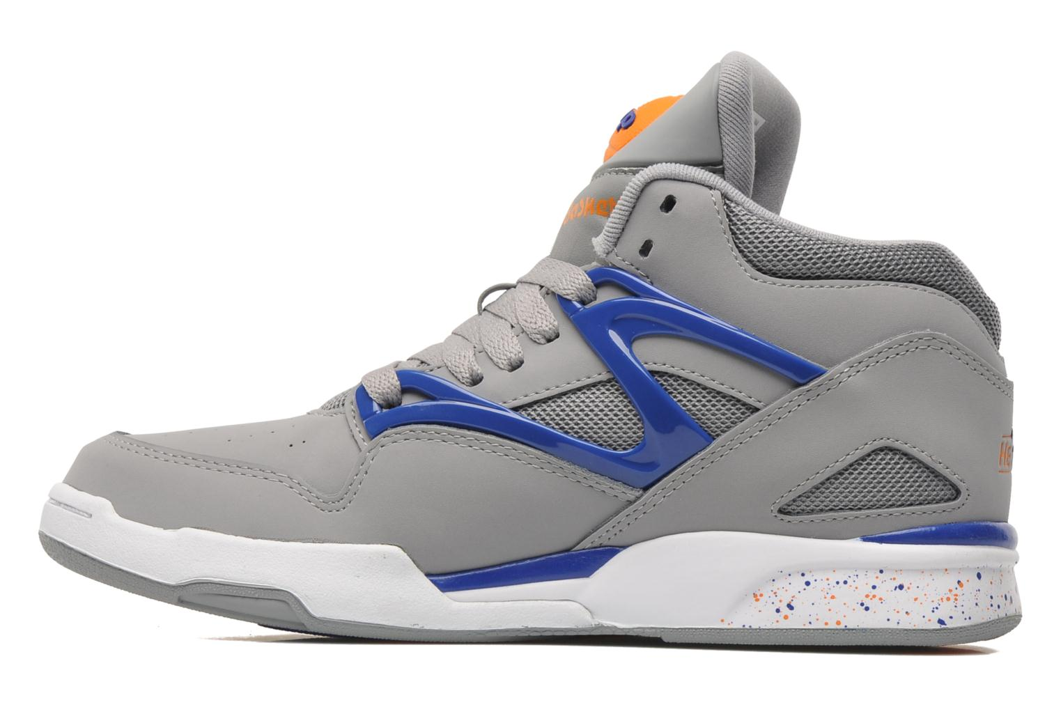 reebok pump omni lite trainers in grey at 178405. Black Bedroom Furniture Sets. Home Design Ideas