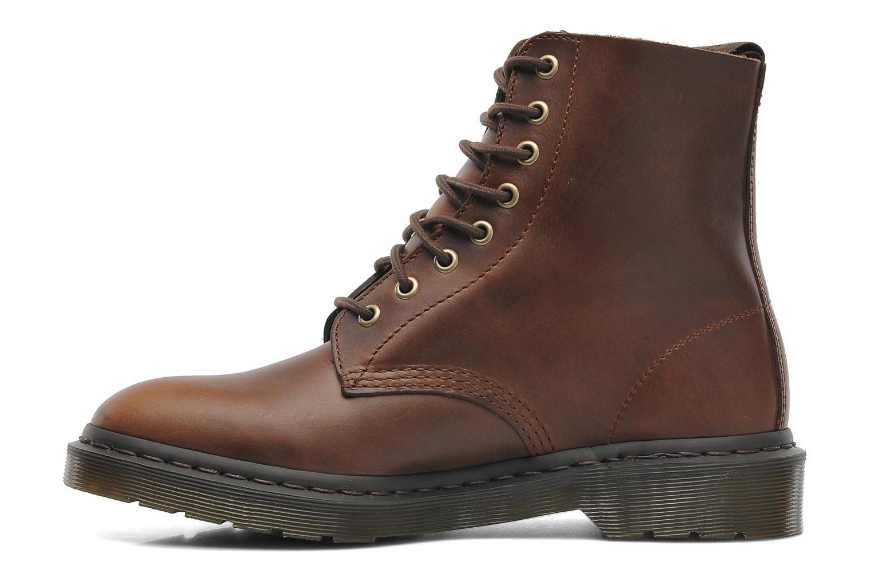 dr martens pascal m marron bottines et boots chez sarenza 186940. Black Bedroom Furniture Sets. Home Design Ideas