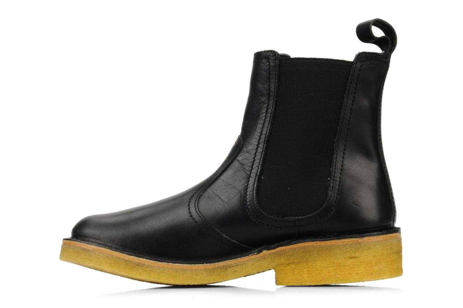 swedish hasbeens chelsea boot femme ankle boots in black