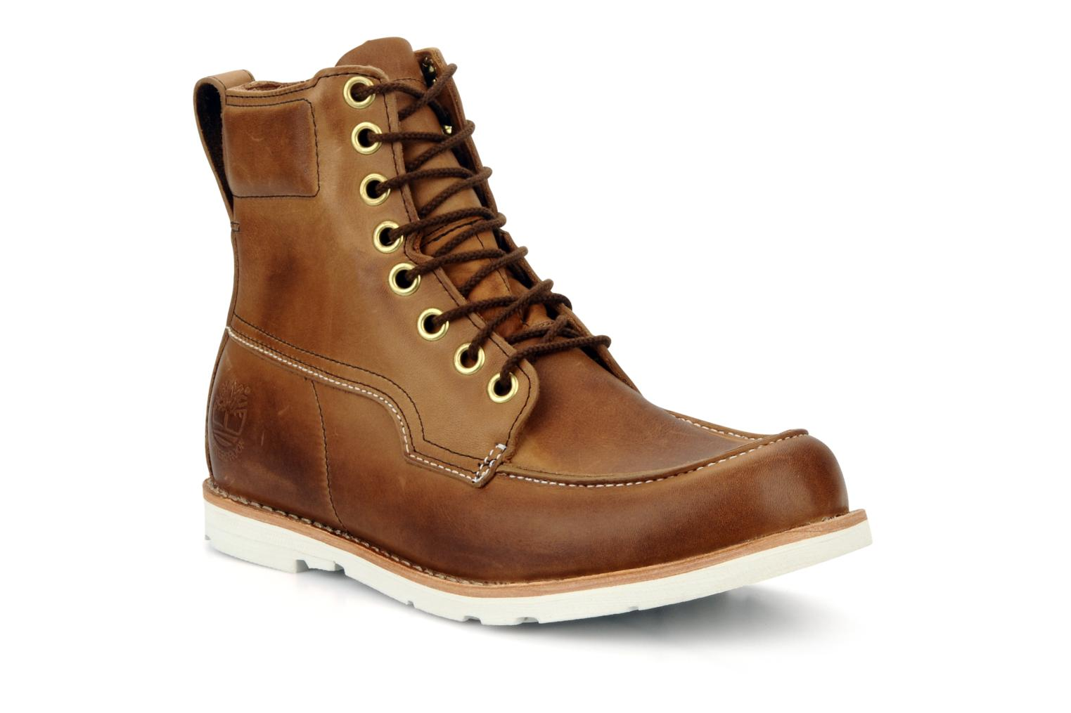 timberland earthkeepers original 2 0 rugged 6 moc toe boot marron bottines et boots chez. Black Bedroom Furniture Sets. Home Design Ideas