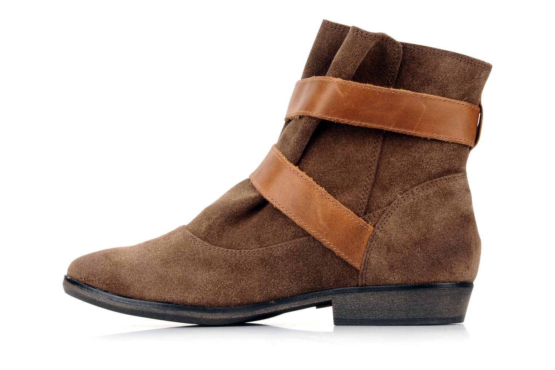 Les Tropéziennes par M Belarbi Cerise Ankle boots in Brown ...