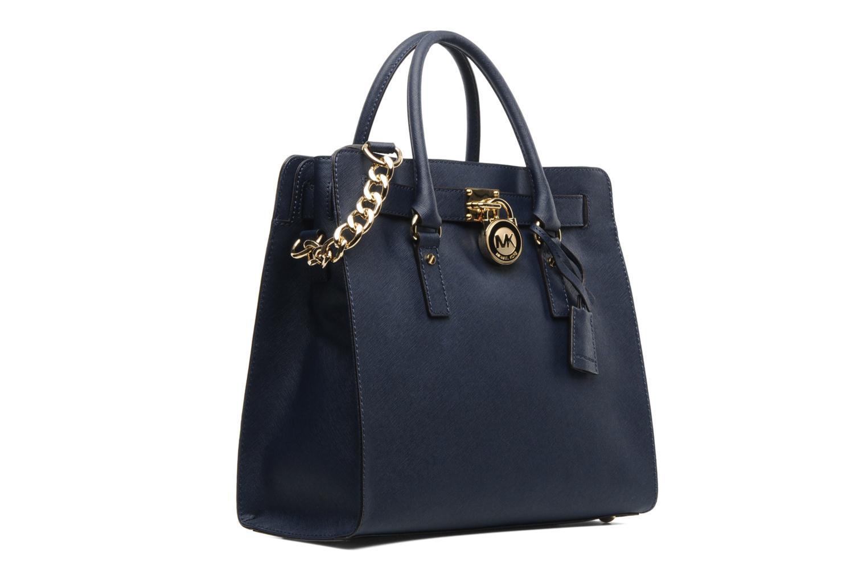 michael michael kors hamilton lg ns tote handbags in blue. Black Bedroom Furniture Sets. Home Design Ideas