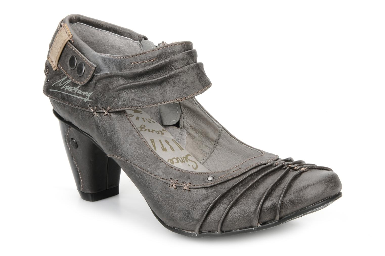 mustang shoes denita high heels in grey at. Black Bedroom Furniture Sets. Home Design Ideas