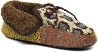 Ruby Brown Patchwork mocassin