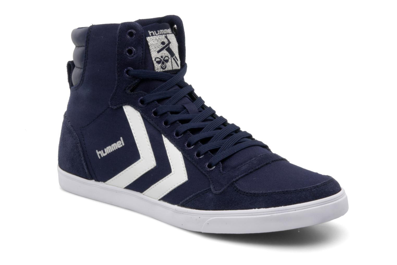 hummel slimmer stadil high canvas blauw sneakers bij. Black Bedroom Furniture Sets. Home Design Ideas