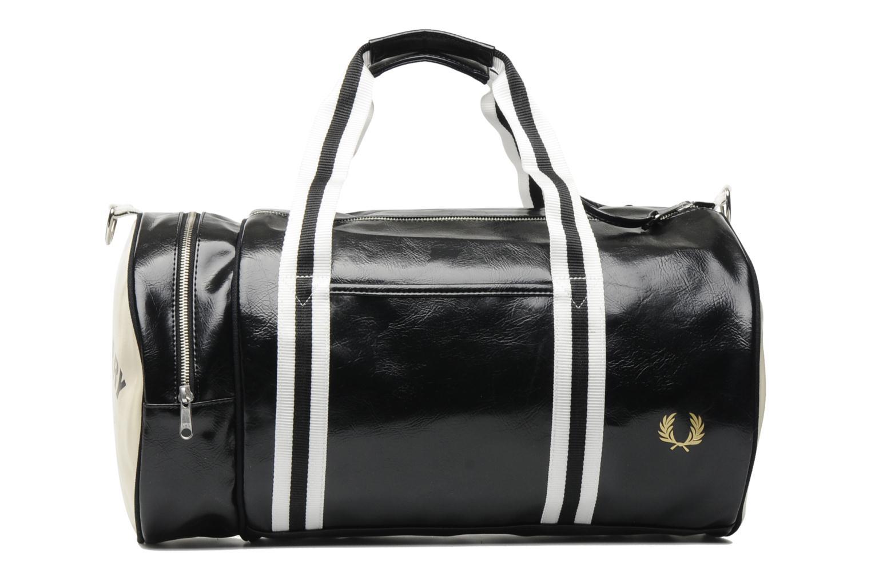 fred perry classic barrel bag noir sacs de sport chez sarenza 117672. Black Bedroom Furniture Sets. Home Design Ideas