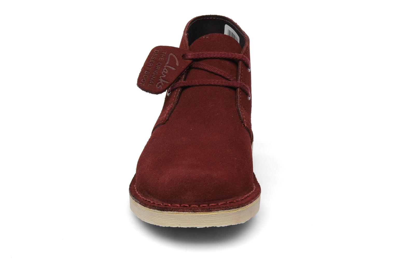 clarks originals desert boot junior f bordeaux chaussures lacets chez sarenza 98736. Black Bedroom Furniture Sets. Home Design Ideas