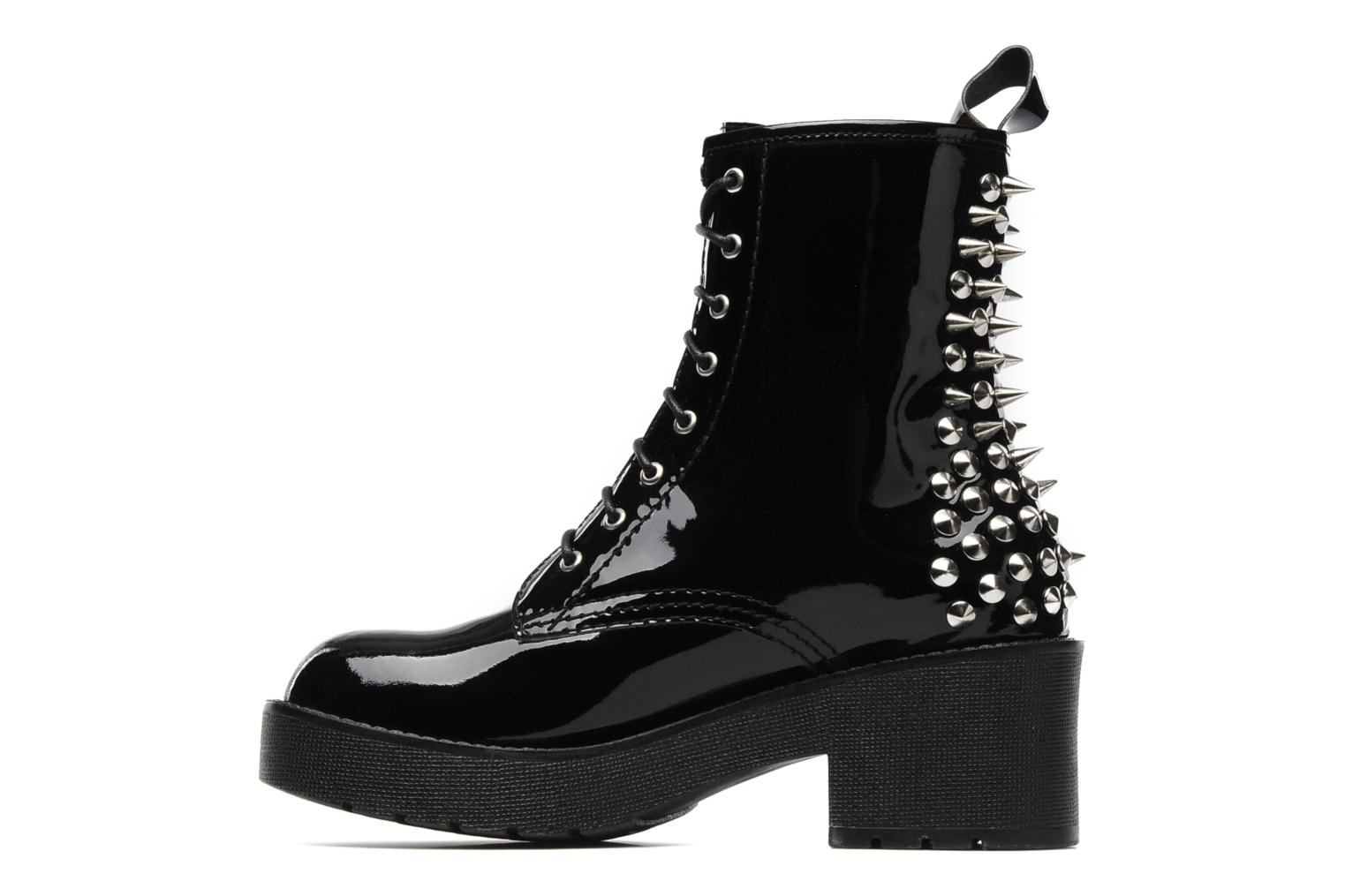 Jeffrey Campbell 8th Street Ankle Boots In Black At
