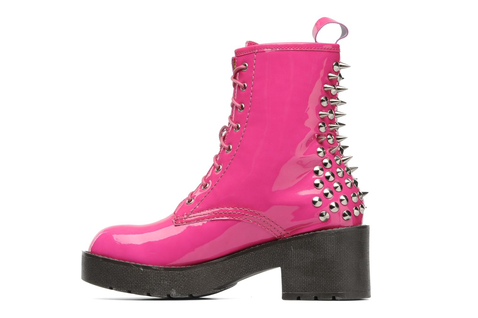 Jeffrey Campbell 8th Street Ankle Boots In Pink At Sarenza