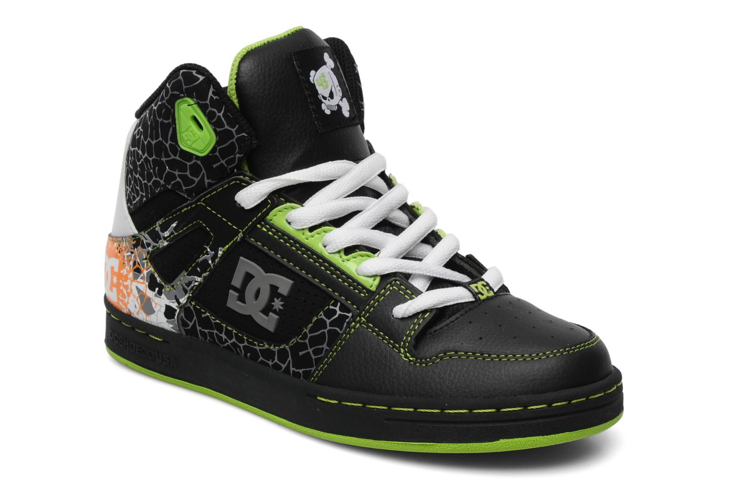 dc shoes ken block rebound sport shoes in black at sarenza. Black Bedroom Furniture Sets. Home Design Ideas
