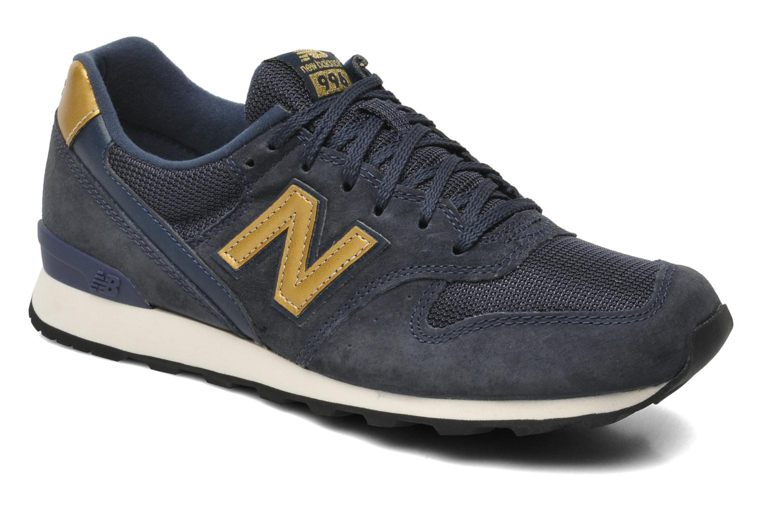 new balance wr996 trainers in blue at 201554. Black Bedroom Furniture Sets. Home Design Ideas