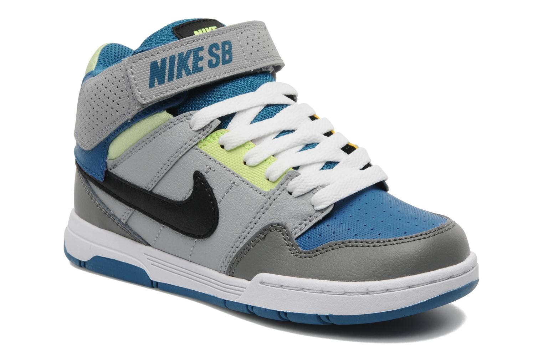 nike mogan mid 2 jr sport shoes in grey at. Black Bedroom Furniture Sets. Home Design Ideas
