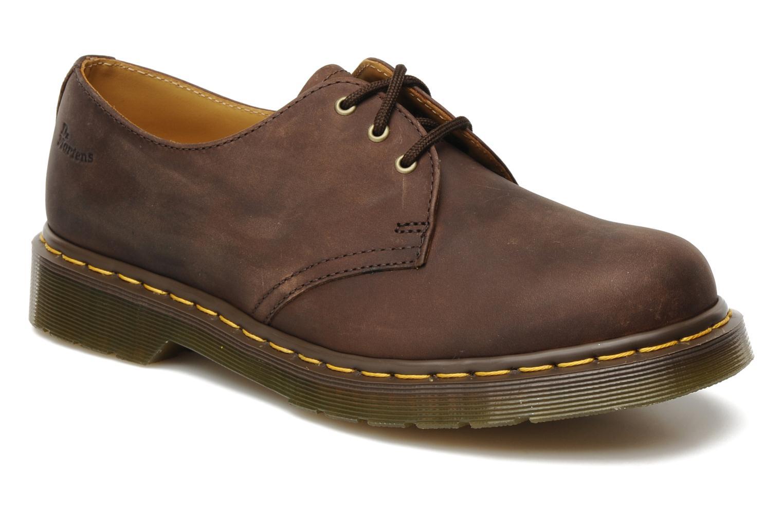 dr martens 1461 m marron chaussures lacets chez sarenza 128800. Black Bedroom Furniture Sets. Home Design Ideas