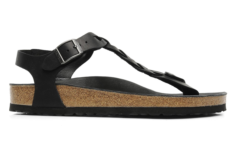 c1c2ececba6c Birkenstock Florida Black Patent Comfortable Strappy Sandals ...