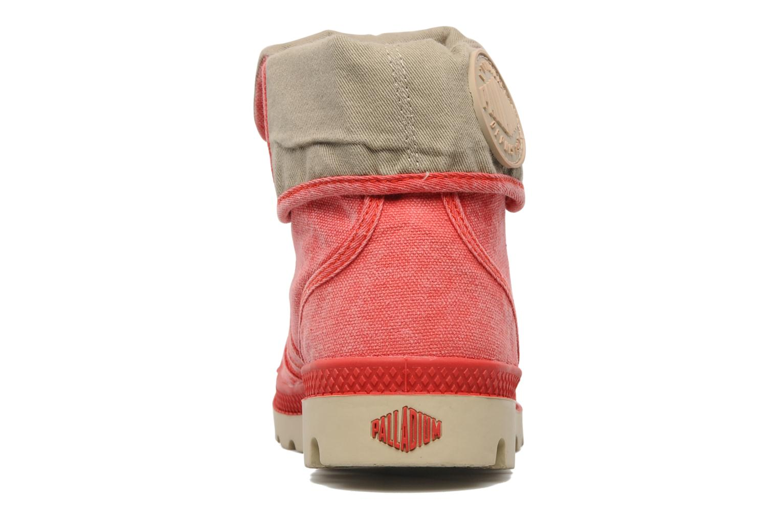 palladium baggy cvs f  rouge