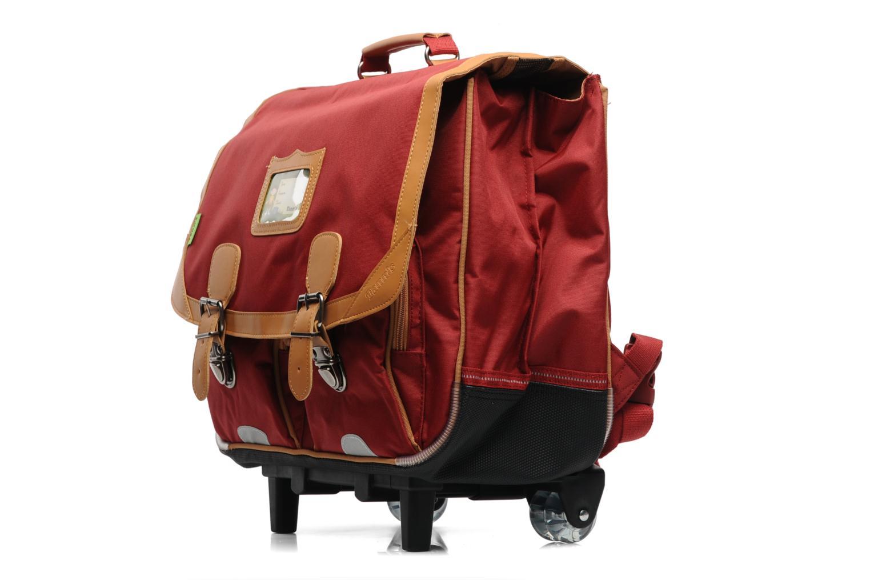 tann 39 s trolley cartable 41 cm classic rouge scolaire chez sarenza 135868. Black Bedroom Furniture Sets. Home Design Ideas