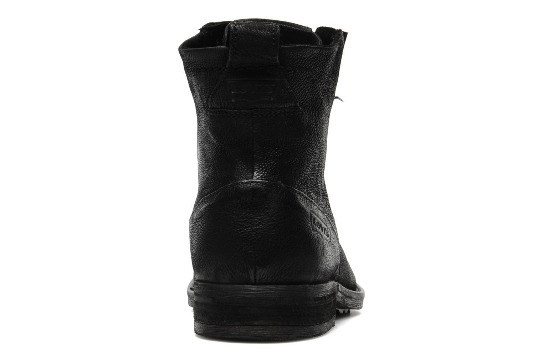 levi 39 s maine lace up noir bottines et boots chez sarenza 139922. Black Bedroom Furniture Sets. Home Design Ideas