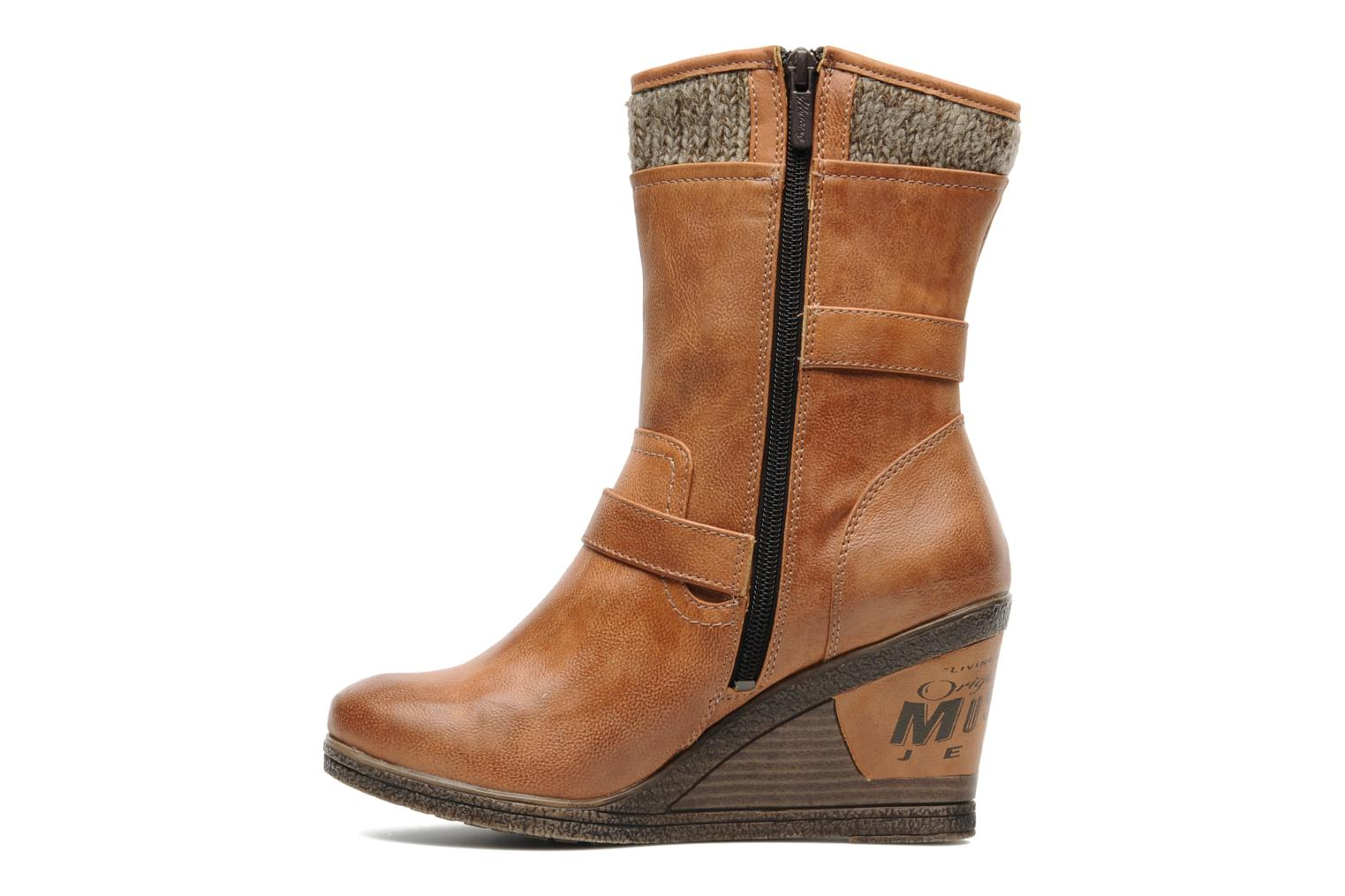 Mustang shoes Berta Ankle boots in Brown at Sarenza.co.uk ...