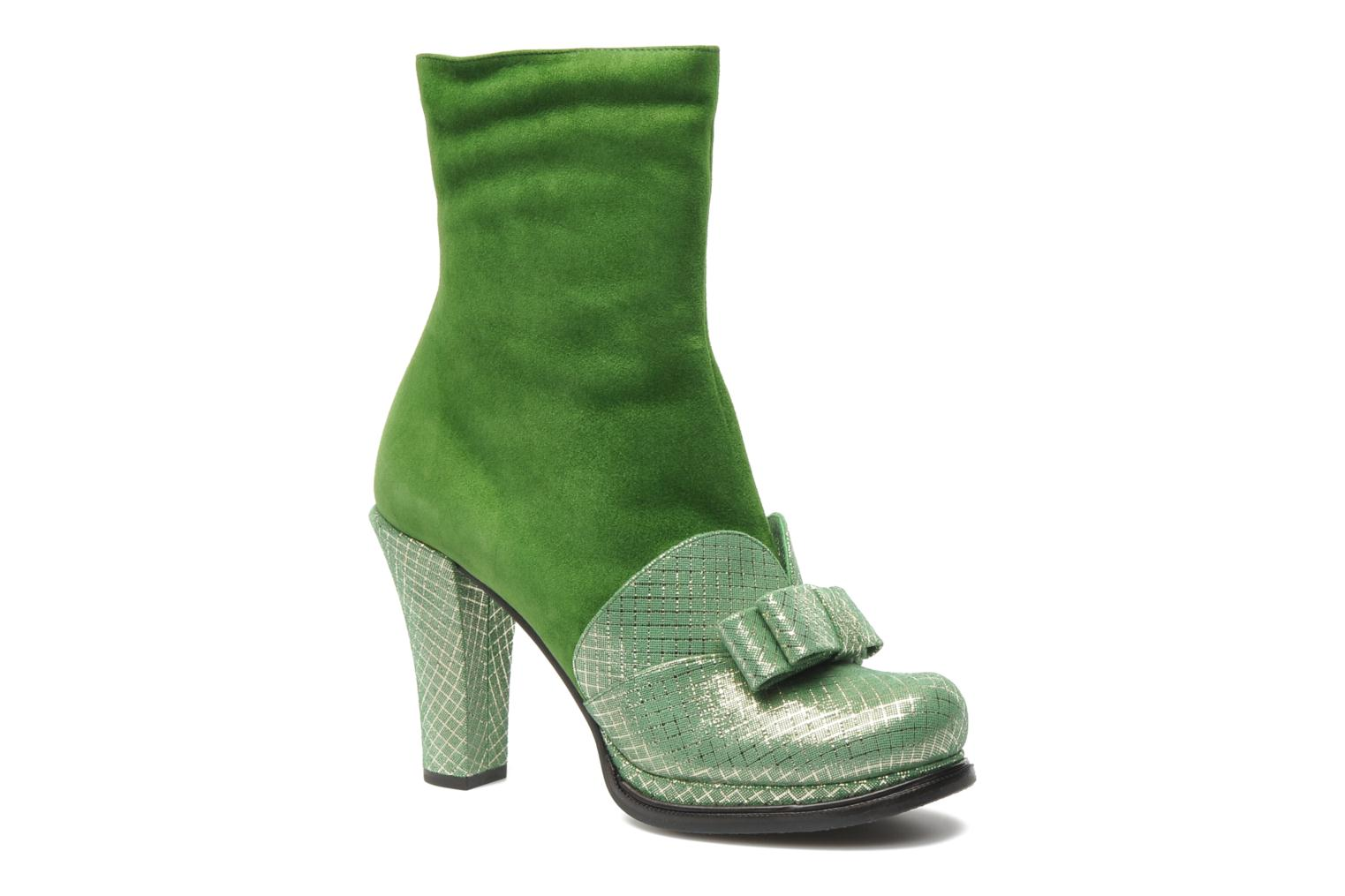 chie mihara luthea ankle boots in green at 140678. Black Bedroom Furniture Sets. Home Design Ideas