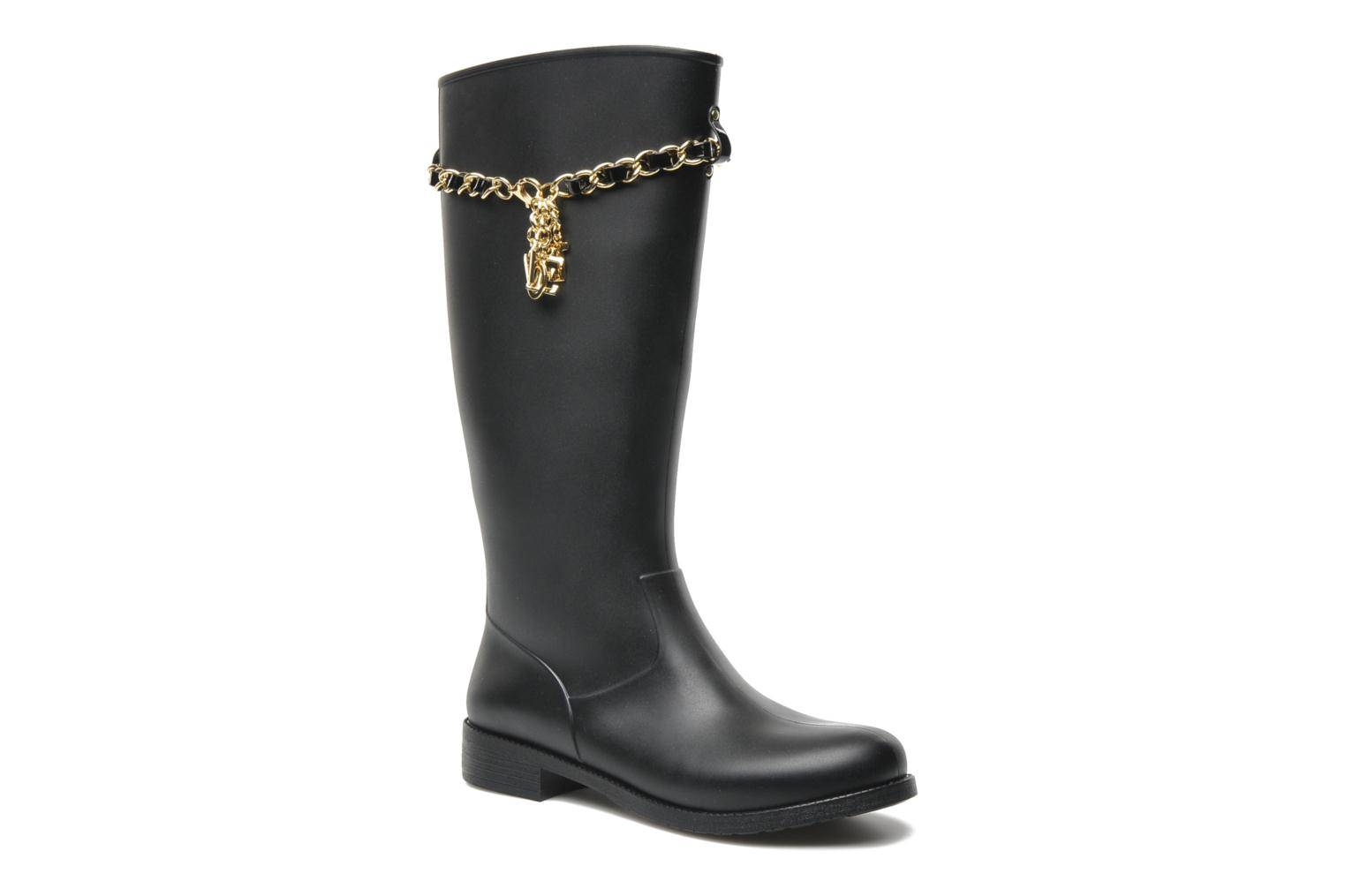 Love Moschino Rain Boot High Boots Amp Wellies In Black At