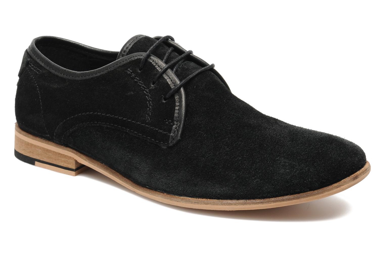 jack jones jj las noir chaussures lacets chez sarenza 142571. Black Bedroom Furniture Sets. Home Design Ideas