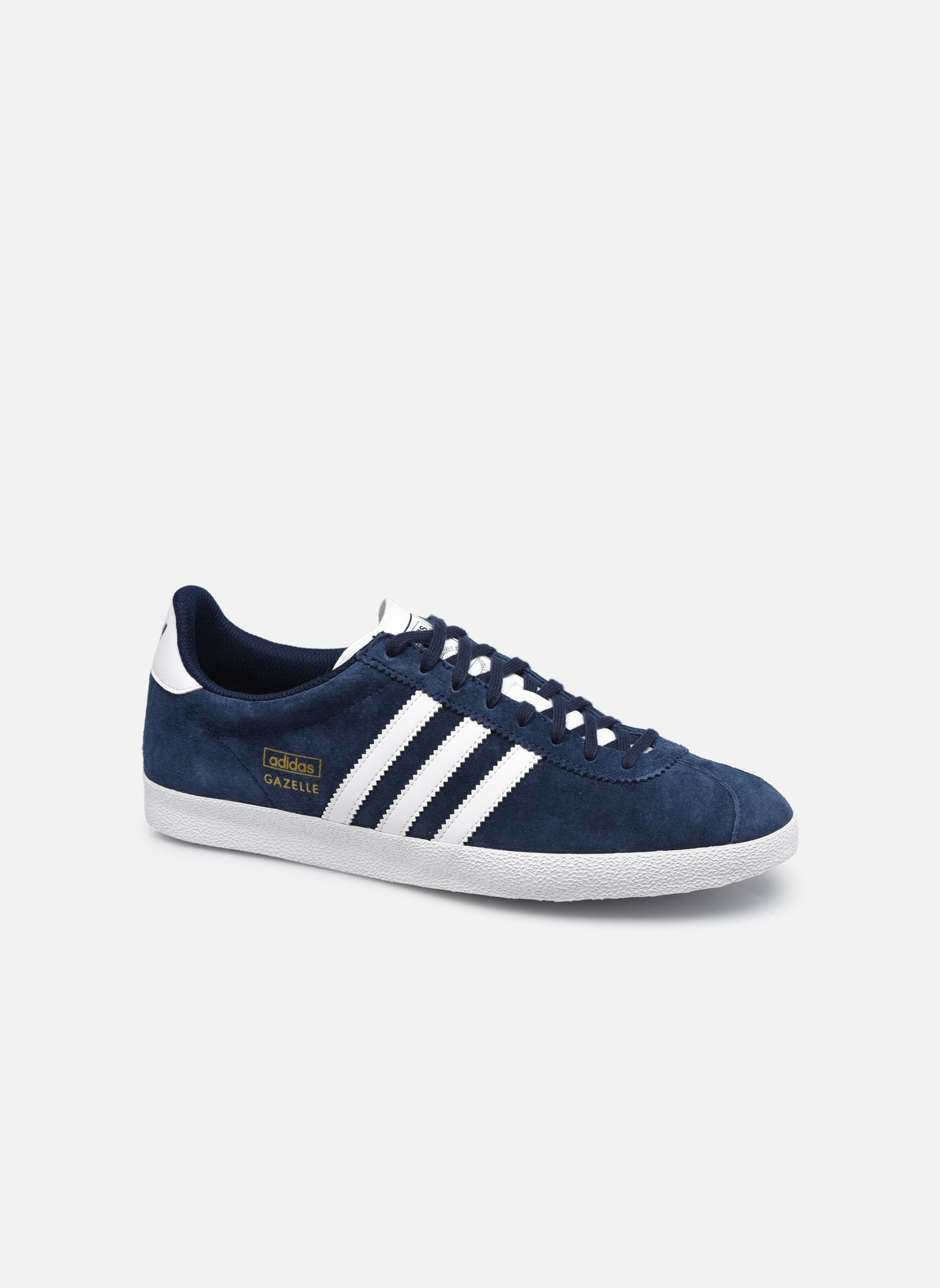 adidas originals gazelle og bleu baskets chez sarenza 143290. Black Bedroom Furniture Sets. Home Design Ideas