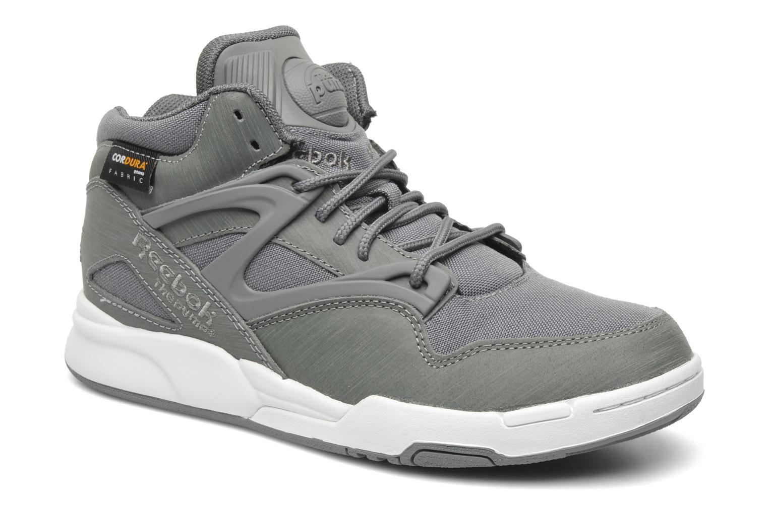 reebok pump omni lite cordura gris baskets chez sarenza 150822. Black Bedroom Furniture Sets. Home Design Ideas