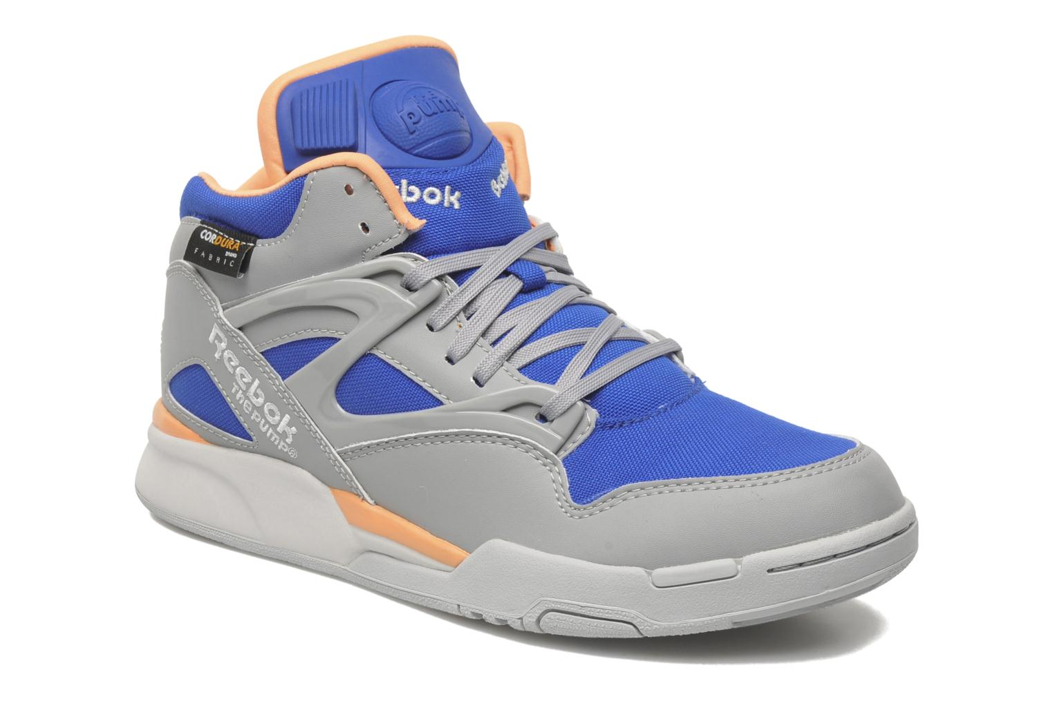 reebok pump omni lite cordura gris baskets chez sarenza 178499. Black Bedroom Furniture Sets. Home Design Ideas