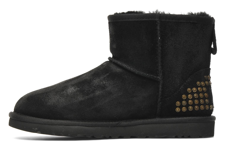 ugg boots classic mini leather studs enkellaarsjes
