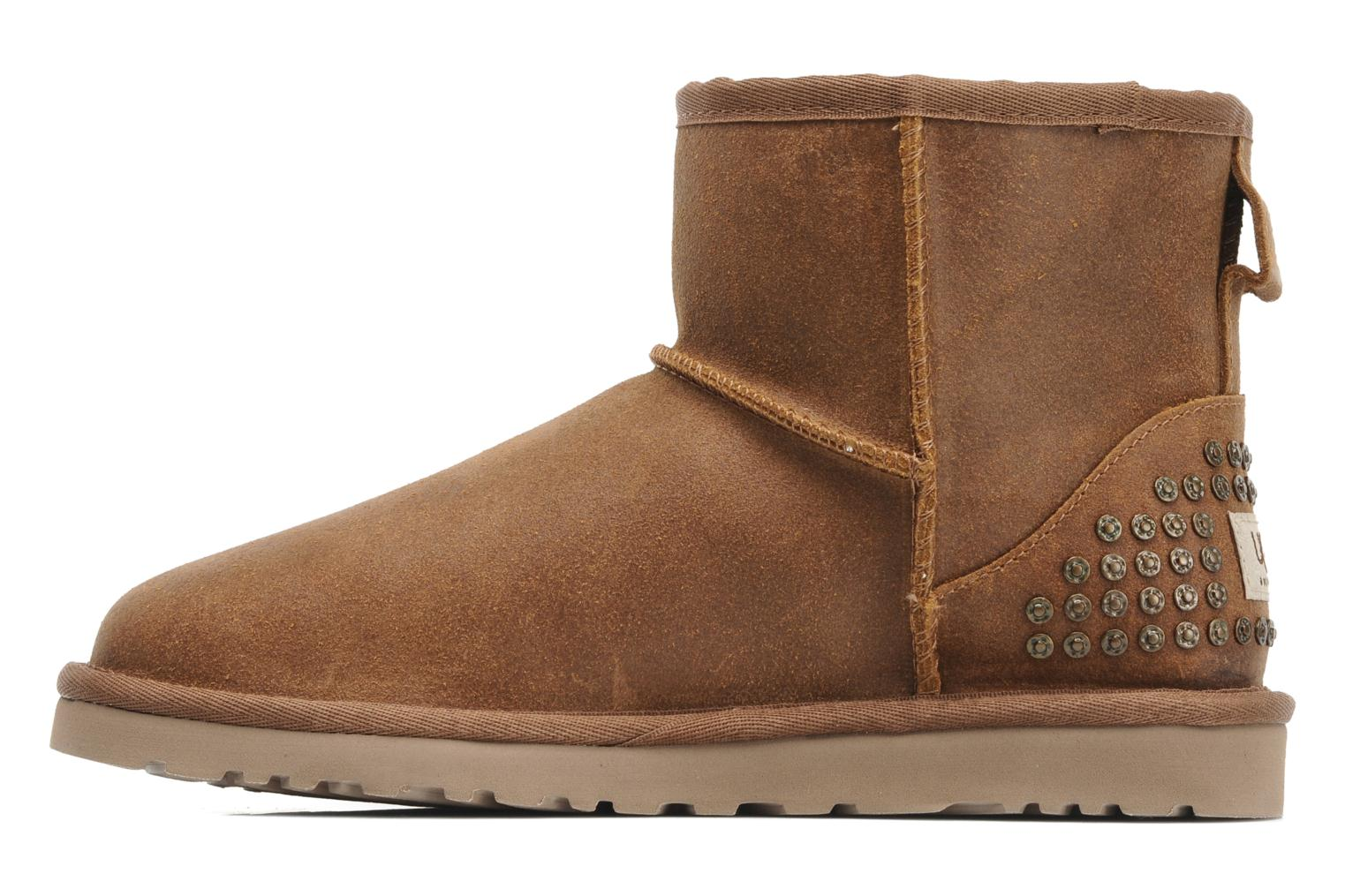 ugg boots classic mini leather studs enkellaarsjes