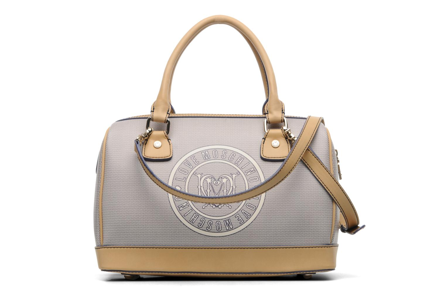 love moschino i love logo bowling handbags in blue at 162815. Black Bedroom Furniture Sets. Home Design Ideas
