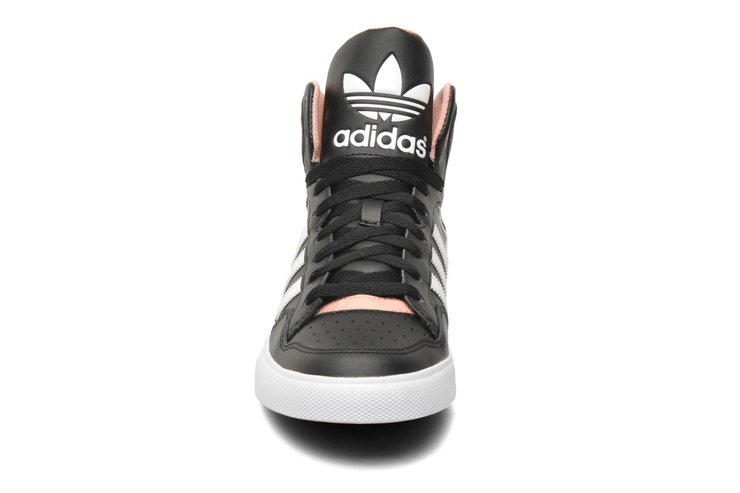 Zwarte Adidas Sneakers Extaball W Pictures to pin on Pinterest