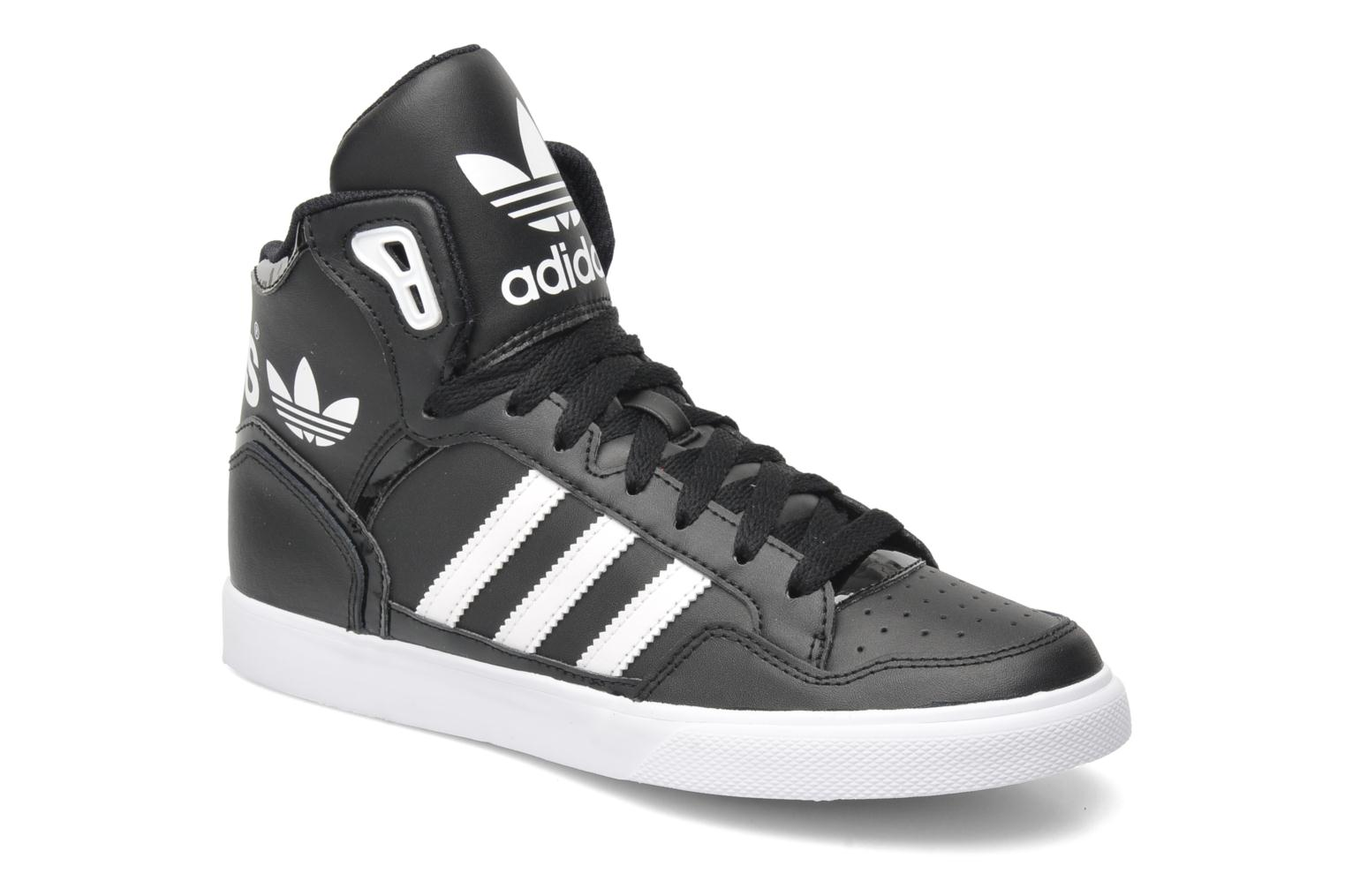 adidas originals extaball w trainers in black at 192978. Black Bedroom Furniture Sets. Home Design Ideas