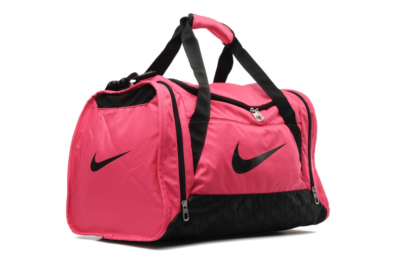 nike womens brazilia duffle s sports bags in pink at. Black Bedroom Furniture Sets. Home Design Ideas