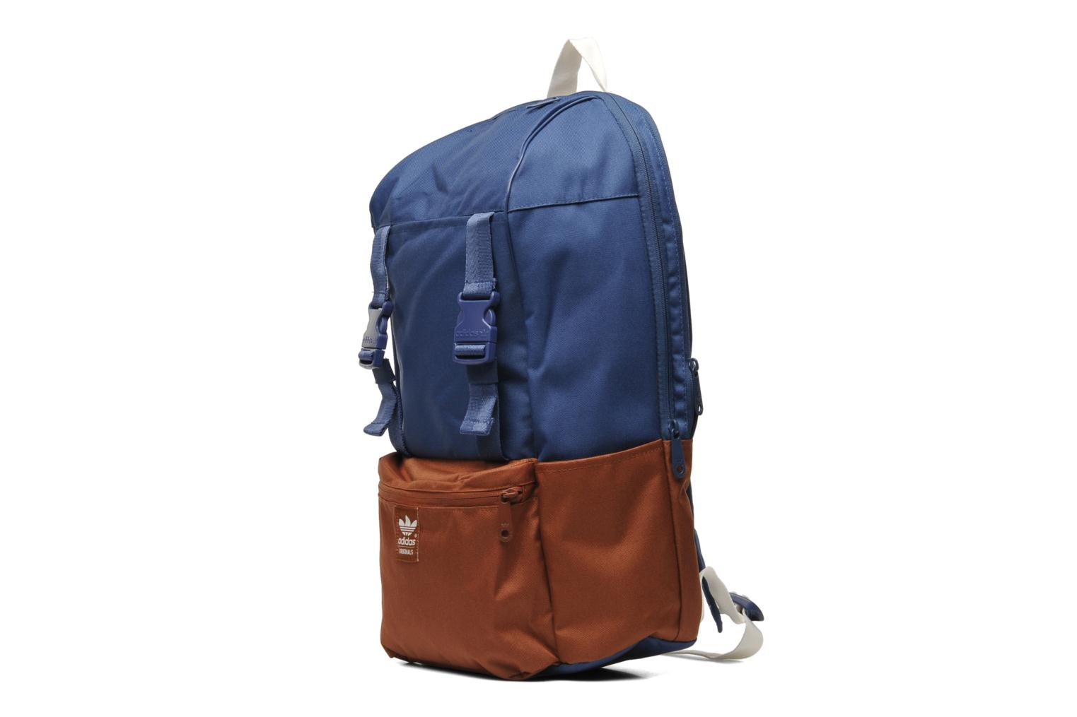 adidas originals backpack campus rucksacks in blue at. Black Bedroom Furniture Sets. Home Design Ideas