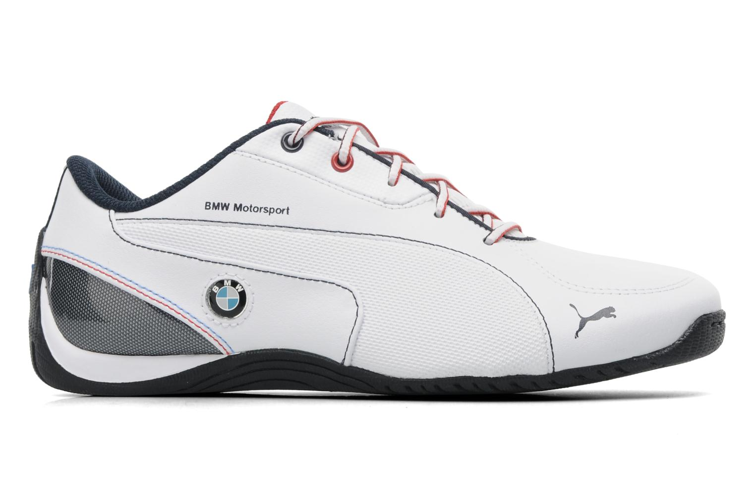 puma drift cat 5 bmw jr trainers in white at. Black Bedroom Furniture Sets. Home Design Ideas