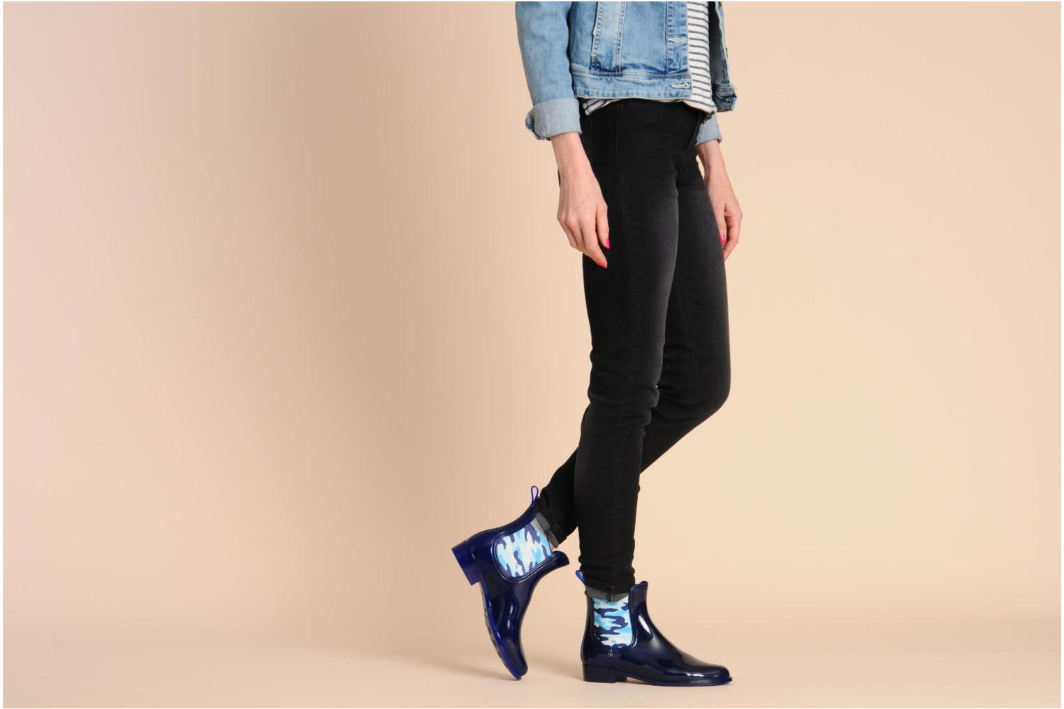 Lemon Jelly Ginseng Ankle Boots In Blue At Sarenza Co Uk