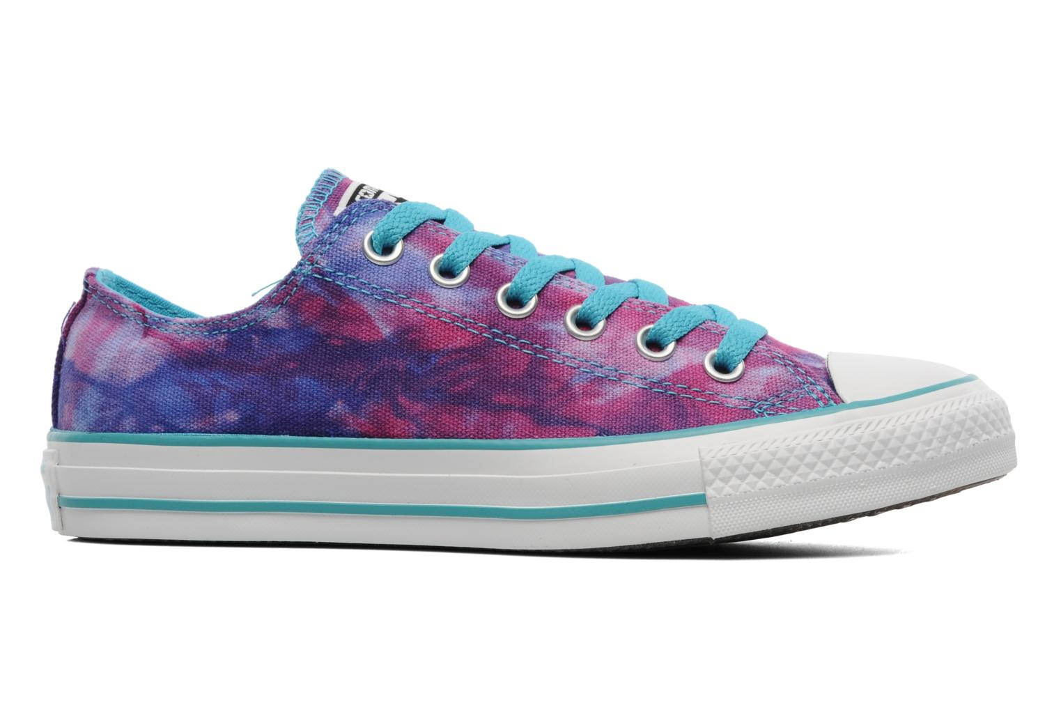 converse chuck all tie dye ox w trainers in multicolor at sarenza co uk 180646