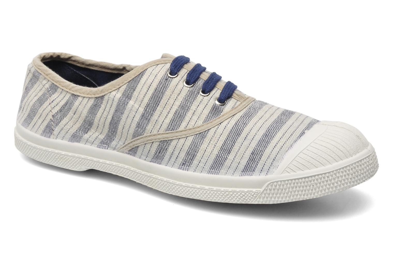 zapatillas Bensimon rayas azules